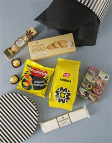 gifts: Coffee Crunch And Tea Treats Hat Box!