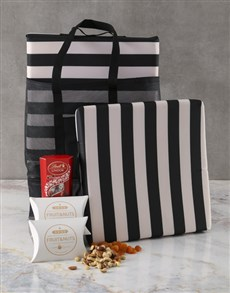 gifts: Stripy Cooler And Cushion Set!
