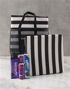 gifts: Cooler And Cushion Treat Set!