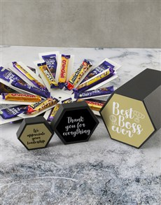 gifts: Best Boss Ever Cadbury Surprise Box!