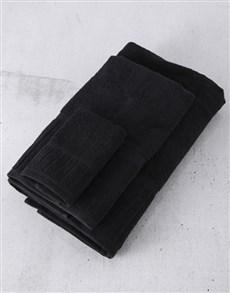 gifts: Black Galleon Towel Set!