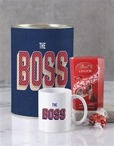 gifts: Boss Guy Bro Bucket Set !
