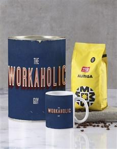 gifts: Workaholic Guy Bro Bucket Set!