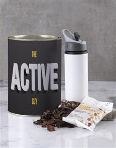 gifts: Active Guy Bro Bucket Set!