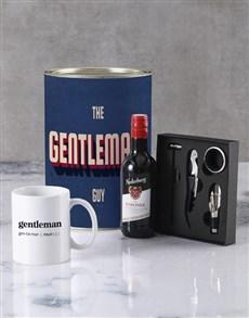 gifts: Gentleman Guy Bro Bucket Set!