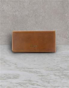 gifts: Zemp Waxy Tan Leather Purse!