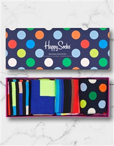 gifts: Pattern Party Happy Socks Set!