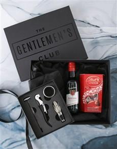 gifts: Gentlemans Club Wine Gift Box Set!