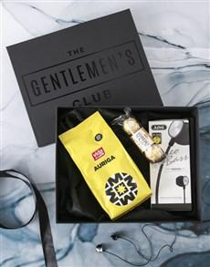 gifts: Gentlemans Club Earphones Gift Box!