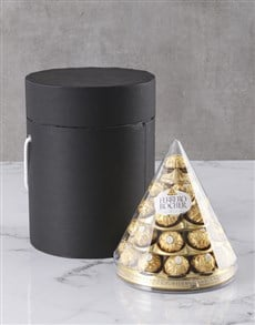 gifts: Ferrero Cone Hat Box!