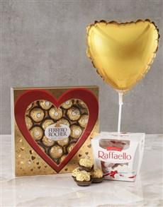 gifts: Ferrero Gold Heart Hamper!