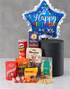 gifts: Birthday Snack Attack Star Balloon Hat Box !
