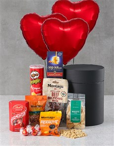 gifts: Heart Snack Attack Balloon Hat Box!
