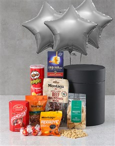 gifts: Stars Snack Attack Balloon Hat Box!