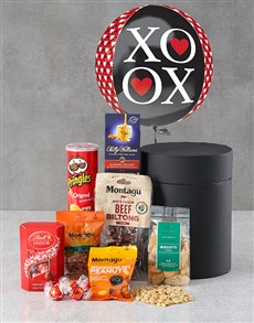 gifts: XOXO Snack Attack Balloon Hat Box!