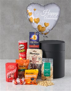 gifts: Anniversary Snack Attack Balloon Hat Box!