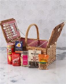 gifts: Packed Full Picnic Hamper!