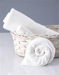 gifts: White Rose Towel Set!