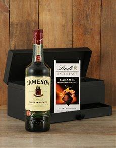 gifts: Jameson Whiskey & Handmade Chocolate Gift Set!