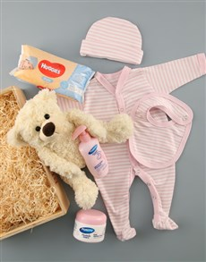 gifts: Baby Girl Crate of Goodies!