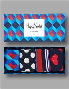 gifts: Happy Socks Vintage Colour Mix Gift Set!