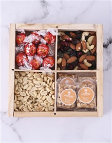 gifts: Nuts About Chocolate Snack Crate!