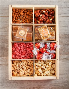 gifts: Supreme Nuts About Chocolate Snack Crate!