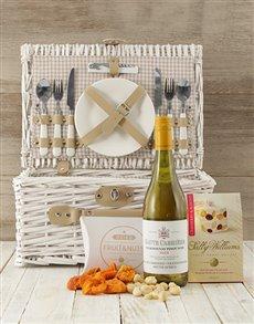 gifts: Wine Me Up Picnic Basket!