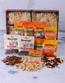 gifts: Biltong and Nut Crate!