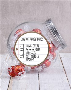 gifts: One of Those Days Candy Jar!
