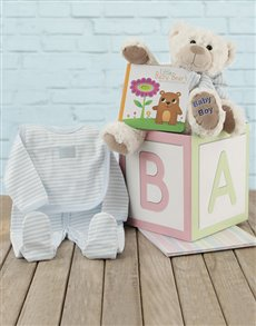 gifts: ABC Baby Boy Gift Box!