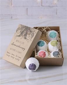 gifts: Aromatherapy Bath Fizzer Set!