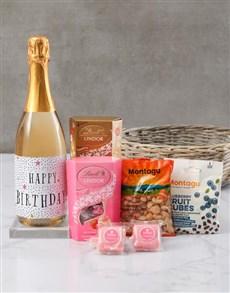 gifts: Bubbly Birthday Basket!