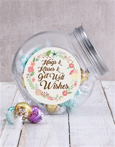 gifts: Get Well Candy Jar!