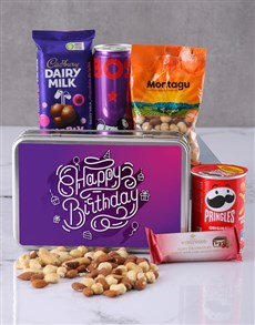 gifts: Birthday for Her Snack Tin!