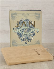 gifts: JAN, A Breath of French Air & Cheese Board!