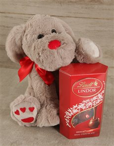 Puppy Love Lindor Gift