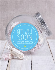 gifts: Get Well Soon Candy Jar!