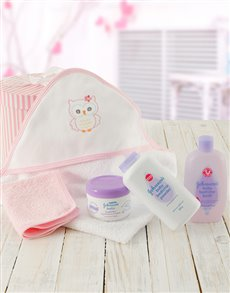 Picture of Baby Girl Bath Time Gift!
