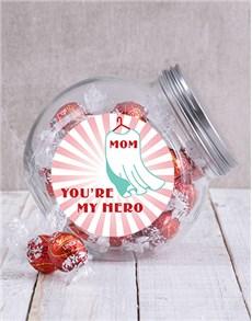 gifts: Mom My Hero Candy Jar!