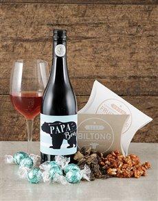 gifts: Papa Bear Gourmet Hamper!