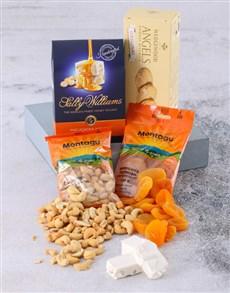 gifts: Navy Snack Hamper!