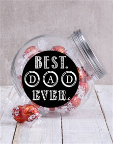 gifts: Best Dad Ever Candy Jar!