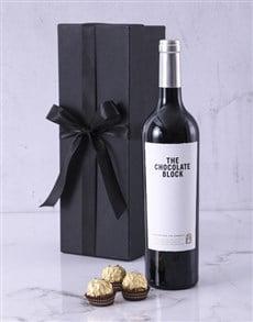 gifts: Chocolate Block Box Hamper!