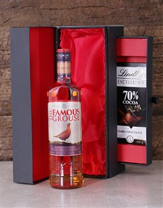 gifts: Famous Grouse in Luxury Black Box!