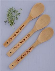 gifts: Scoop Blend Taste Spoon Set!