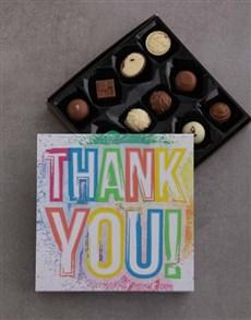 gifts: Rainbow Thank You Choc Tray!