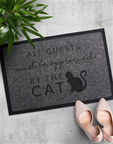 gifts: Approved By Dog or Cat Doormat!