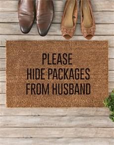 gifts: Hide Packages Doormat!