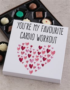 gifts: Favourite Cardio Chocolate Tray!